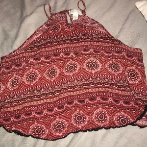 Forever 21 Tops - red halter top!